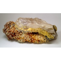 RARE MIMETITE AND CERUSSITE FLOATER