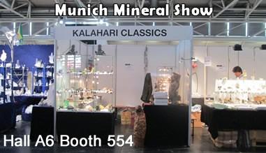 Munich Mineral show